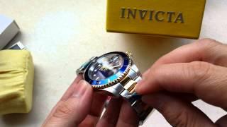 Relógio Invicta Pro diver coroa de Rosca Ref 8928OB  Misto Aço e ouro