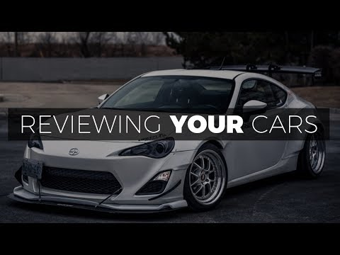Reviewing YOUR Cars In Our Gallery! EP. 4