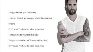 Wipe Your Eyes - Maroon 5 LYRICS HQ