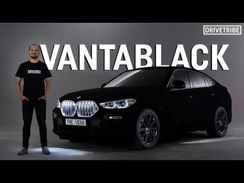 Behold the Darkest Car on Earth: the Vantablack BMW
