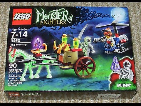 Vidéo LEGO Monster Fighters 9462 : La momie