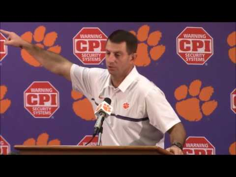 TigerNet.com - Dabo Swinney blasts media that reported on racial slurs after SC game