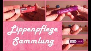 Lippenpflege Sammlung   Update Mitte 2017   FranzisPflegeKiste