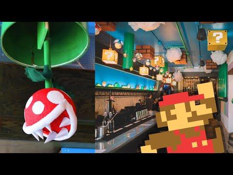 Un bar diseñado al estilo de Mario Bross