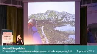 Toppmøte 2015 – Mette Ellingsdalen
