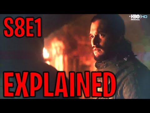 Season 8 Episode 1 Explained ! | Game of Thrones Season 8 Episode 1