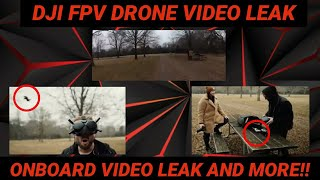 NEW LEAKED DJI FPV DRONE ONBOARD VIDEO AND CONTROLLER/DRONE VIDEO (beta leaks of the dji fpv drone)