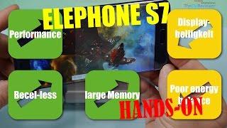 Elephone S7 Helio X20 LTE Anroid 6.0 Bezel-less - Hands-on (Deutsch, English hints)