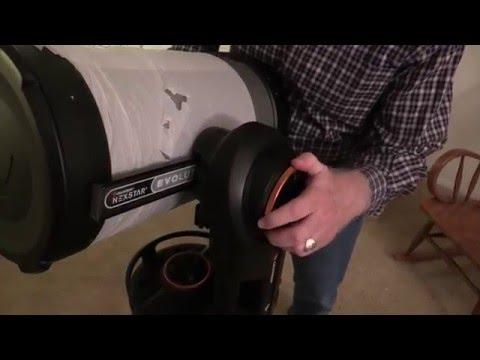 Celestron Nexstar Evolution 9.25 Telescope Unboxing and Setup