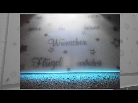 DIY Plexiglas als Wanddeko/Wandschutz/Plexiglas mit Opal Folie bekleben/ Tutorial Deutsch  Anleitung