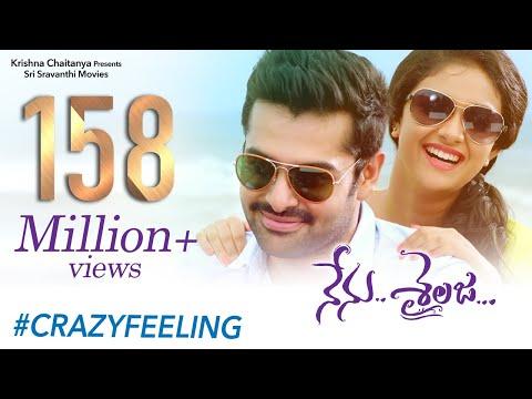 Crazy Feeling Full Video Song | Nenu Sailaja Movie | Ram Pothineni | Keerthy Suresh| Devi Sri Prasad