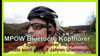 MPOW Bluetooth Sport-Kopfhörer/Headset nach 3 Jahren im Einsatz! Kann das günstige Gerät überzeugen?