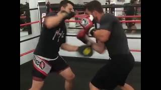 Flow drill for Boxing - Boxe Rive sud