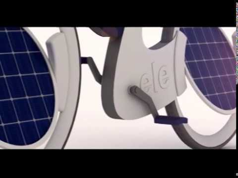 ele solar charged bike by mojtaba raeisi gear x head