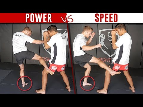 5 Variations of (Round) Low Kicks