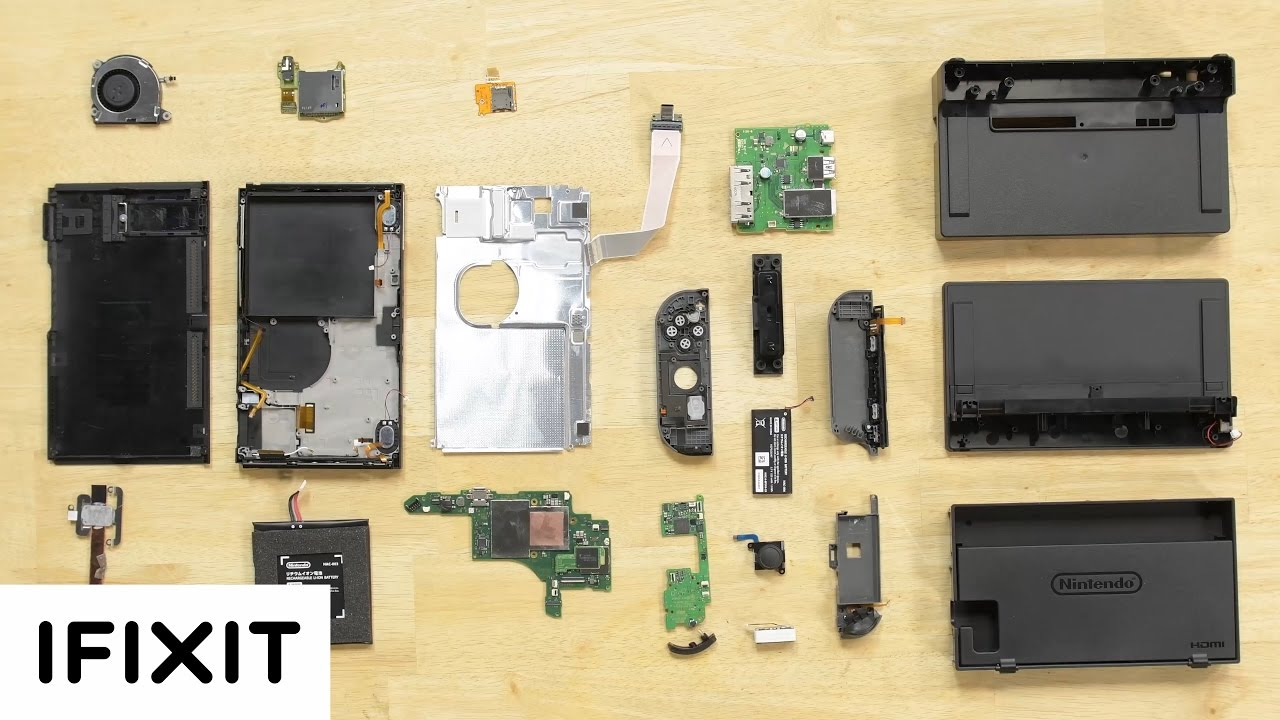How Easy Is It To Fix The Nintendo Switch?