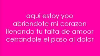 Aqui Estoy Yo- Luis Fonsi Ft. Aleks Syntek,  Noel Schajris & David Bisbal. + Lyrics