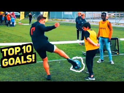 SkillTwins TOP 10 Football Skill Goals 2019 ★