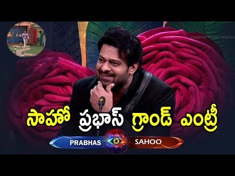 Young Rebelstar Prabhas Chief Guest In Telugu Reality Show BiggBoss Season3 |Trending Telugu Updates
