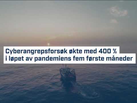 Antallet cyberangrepsforsøk i maritim sektor