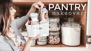 PANTRY ORGANIZATION IDEAS + SPRING CLEANING & SMALL PANTRY TIPS | grace for the day