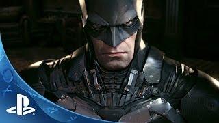 Official Batman: Arkham Knight -- Batmobile Battle Mode Gameplay footage   E3 2014   PS4
