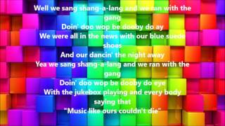 Shang-A-Lang by Bay City Rollers (Lyrics)
