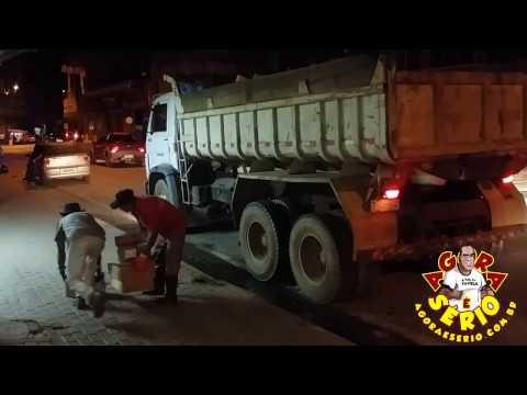 Veja o arremesso de lixo do Governo Ayres Scorsatto