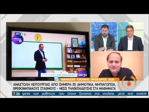 Θ. Κικινής (ΔΟΕ): Χρειάζεται σοβαρή οργάνωση για την τηλεκπαίδευση | 16/11/20 | ΕΡΤ