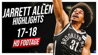 Nets C Jarrett Allen 2017-2018 Season Highlights ᴴᴰ