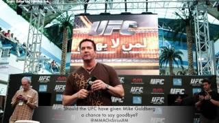 Did Mike Goldberg Deserve a UFC Sendoff?
