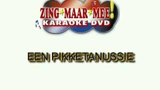 Johnny Jordaan  - Een Pikketanussie ( KARAOKE ) Lyrics