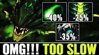 OMG Up to 100% slow ( STILL CAN MOVE ) Viper Gameplay by Babyknight Dota 2