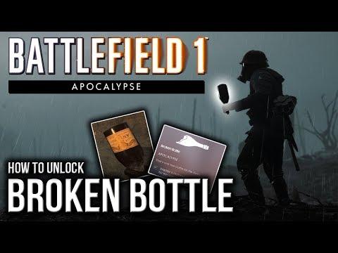 How to unlock Broken Bottle Hidden Weapon | BATTLEFIELD 1