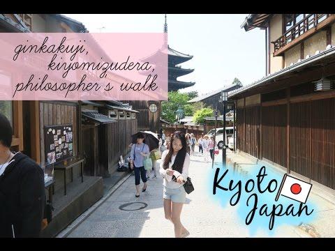 Kyoto Vlog | Day 2: Ginkakuji, Kiyomizudera, Philosopher's Walk & the Pontocho District