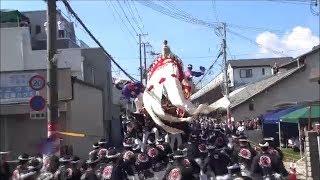 平成30年9月16日 岸和田春木だんじり祭り ~平成最後の宮下り~