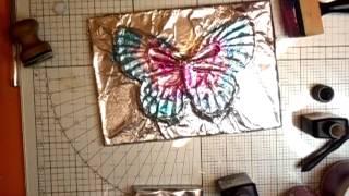 Foiled Butterfly Tutorial - Jennings644