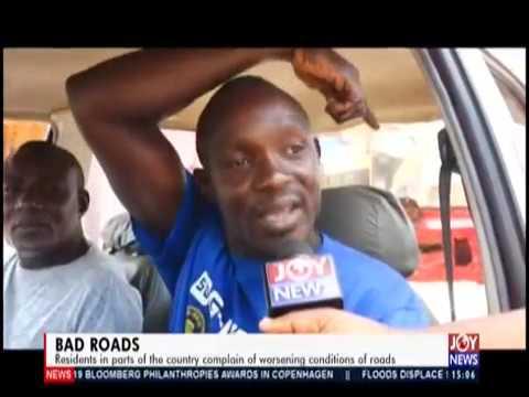 Bad Roads - The Pulse on JoyNews (14-10-19)
