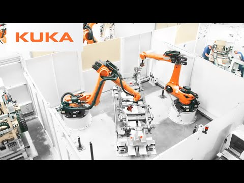 How Robots Build a SUV Frame