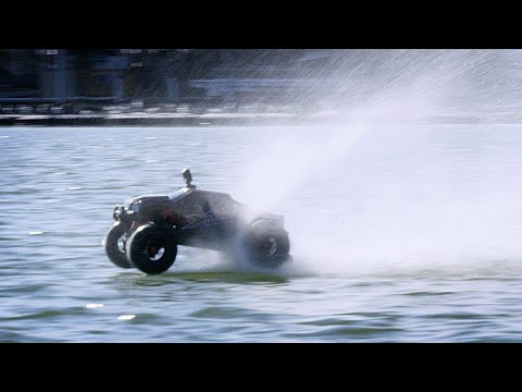 2000ft RC Truck Water Hydroplane WORLD RECORD!
