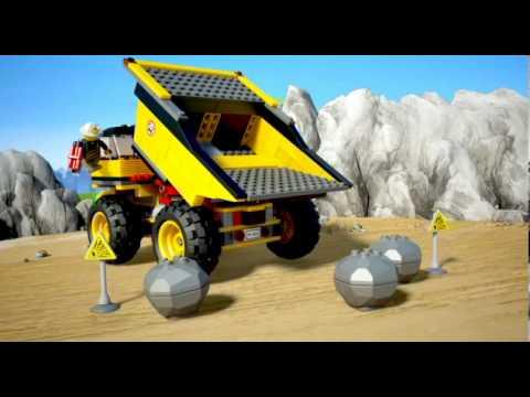 Vidéo LEGO City 4202 : Le camion de la mine