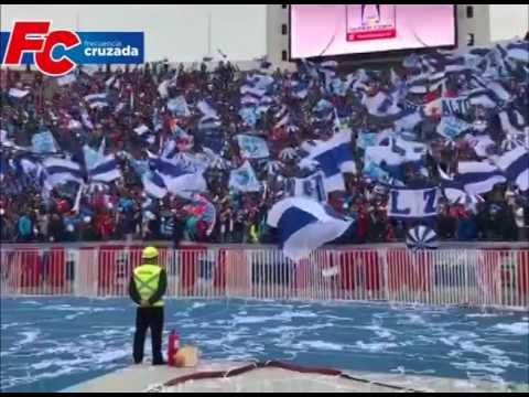 """""""Compacto Barra de Los Cruzados en la Supercopa 2017"""" Barra: Los Cruzados • Club: Universidad Católica"""