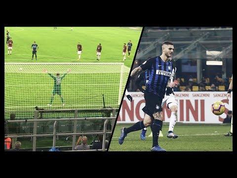 Tutti i rigori di Mauro Icardi con la maglia dell'Inter in Seria A