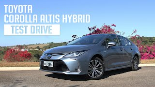 Toyota Corolla Altis Hybrid - Test Drive