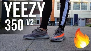 13836022e HOW TO LACE YOUR YEEZY 350!! - threepeat