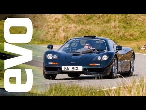 McLaren F1 & Ferrari F40 vs Supercar Rivals