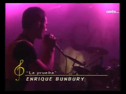 Enrique Bunbury video La prueba - CM Vivo 1998