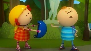Аркадий Паровозов спешит на помощь - Почему опасно кататься на роликах без шлема - мультфильм детям