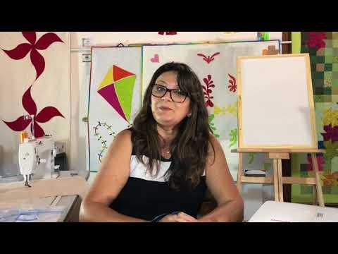 Vídeo 353 de #365 Vídeos de Quilting - Nova Barra em Arabesco