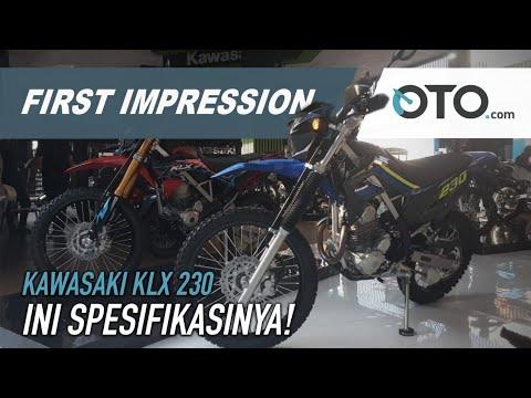 Kawasaki KLX 230 | First Impression | Pertama Di Dunia | OTO com